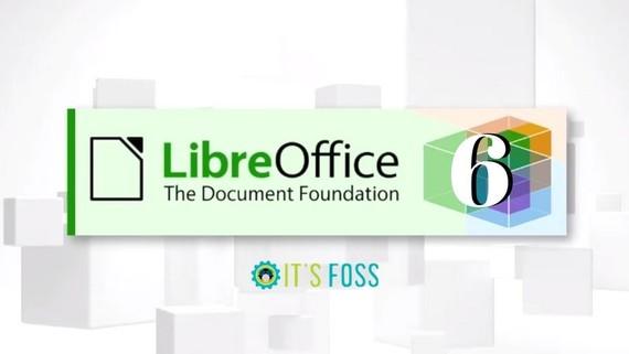 Iritsi da LibreOffice 6.0, beste urrats bat gure dokumentuak askatzeko