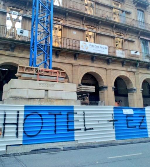 Turismoaren olatu berria Gipuzkoan: Donostian 20 hotel eraikitzera doaz