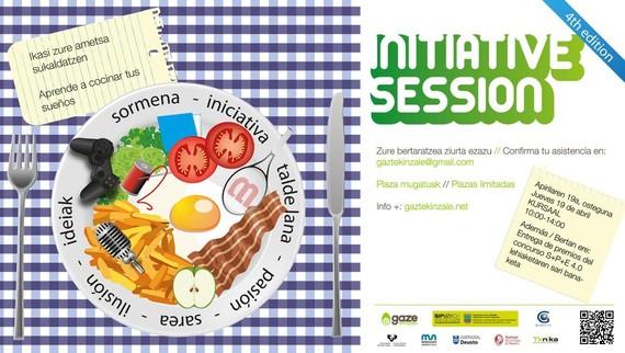 Izena eman Initiative Session 4.0n!