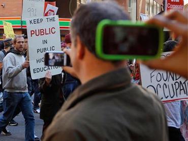 Poliziak Apple markako mugikorrak blokeatu ahalko ditu ekitaldi publikoetan