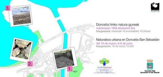 Donostiako natura ikusgai Cristina Enea Fundazioaren eskutik