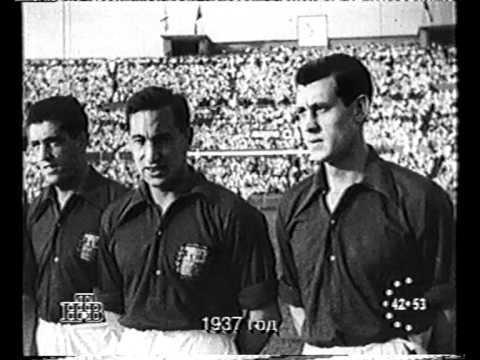 Football Match Soviet vs Basque Teams