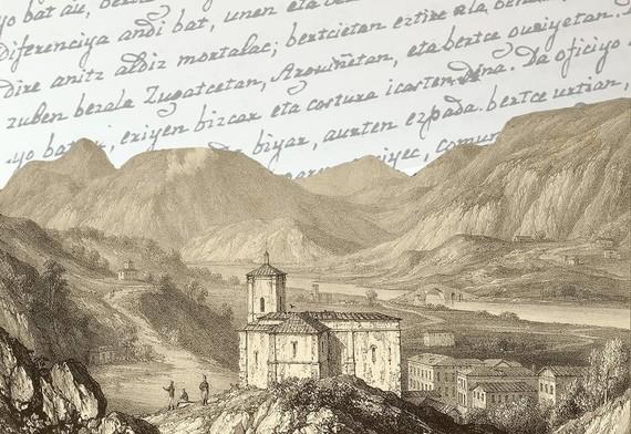 Berako 1822ko eskuizkribu administratibo bat, euskara ederrean
