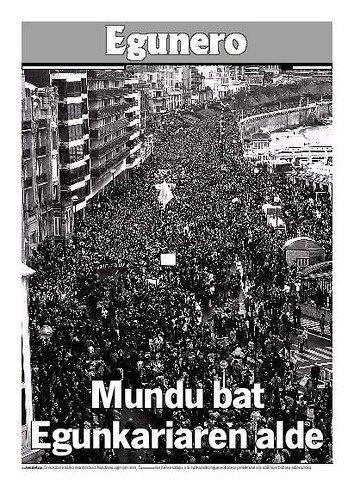 2003-02-22: Mundu bat Egunkariaren alde