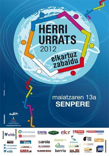 Herri Urrats 2012, igandean Senperen