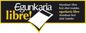 Blogari eta webgileok: Interneten ere 'Egunkaria libre!'