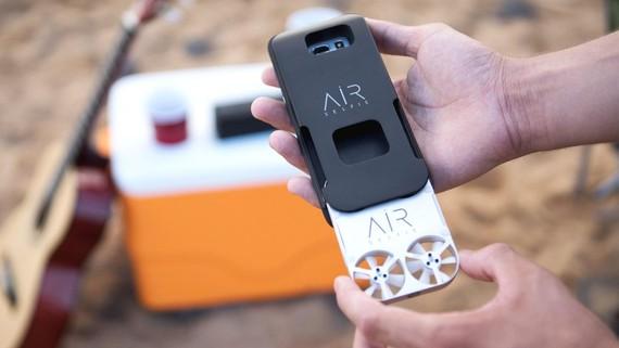 Selfieak egiteko droneak heldu dira