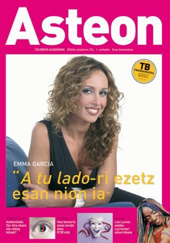 Asteon Telebista aldizkaria bihar banatuko da etxeetara