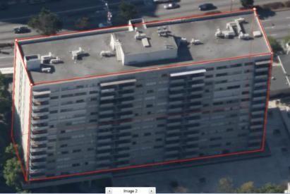 3D eraikinak doan Googlerentzat Building Maker tresnarekin