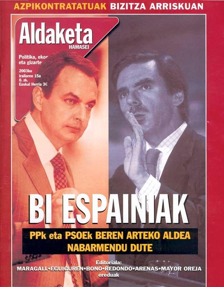 Albistea: Aldaketa16 aldizkaria jaio da, euskaraz1