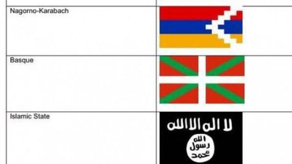 Eurovisionek ikurrina debekatu du eta EIko banderaren parean jarri