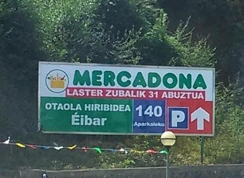 """""""Mercadonak sortzen digun lilura"""", Leire Narbaizak"""