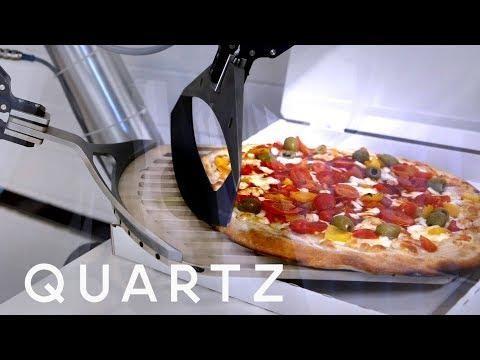 Pizzeria erabat robotikoa sortuko dute Frantzian