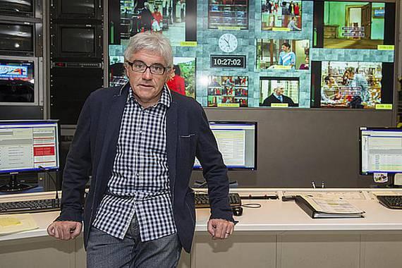 """Edu Barinaga: """"Emaitzak hobetzeko lan metodoak aldatu behar dira ETBn"""""""