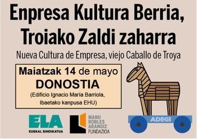 Jardunaldia: Enpresa Kultura berria, Troiako Zaldi zaharra