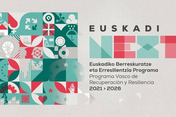 Euskadi Next 21-26 egitasmoko IKT proiektuak zerrendatuta