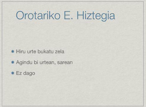 Zer egingo luke Googlek Euskaltzaindia balitz?