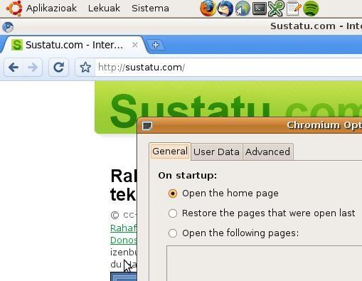Nola erabili Chromium Ubuntun, Googleren Chrome nabigatzailearen bertsio libre eta azkarra