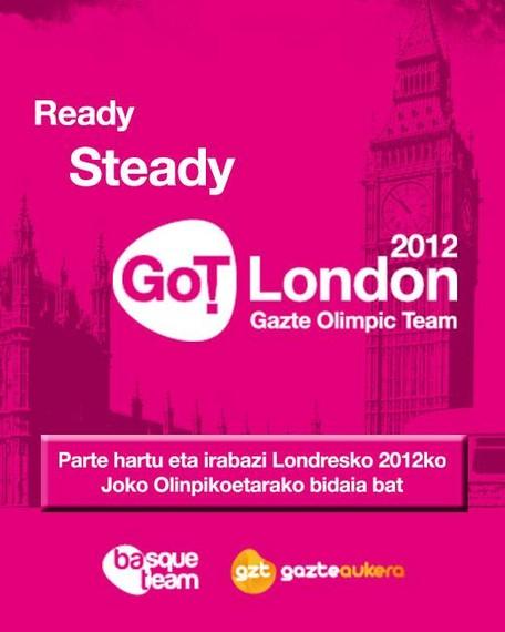 Gazte Olimpic Team, Londresko Joko Olinpikoetarako blogari bila