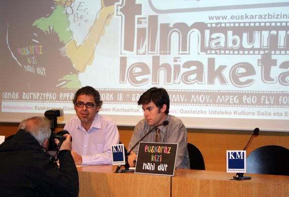 Albistea: Euskaraz bizitzeko nahia: film laburren