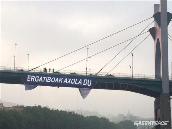 Greenpeace ere, ergatiboaren alde