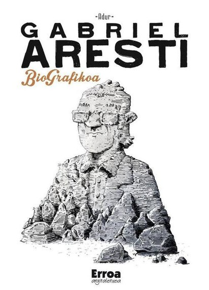 Gabriel Arestiren bizitza komikira ekarri du Adur Larreak