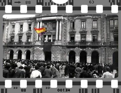 1931ko apirilaren 14ko goizean Eibarren irakurri zuten bandoa berreskuratu dute