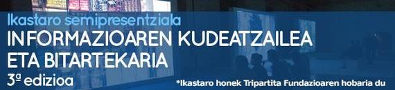"""""""Informazioaren kudeatzailea eta bitartekaria"""" ikastaroa, Tabakalera eta Asmoz Fundazioaren eskutik"""