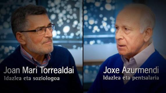 """Torrealdai eta Azurmendi, """"Guk munduari eman diezaiokeguna eta beste inork ez, euskara da"""""""