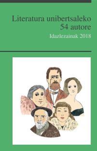 """""""Literatura unibertsaleko 54 autore"""" wikiliburua eskuragai"""