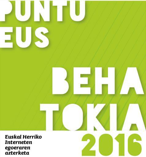 PuntuEUS Behatokiaren arabera 18.317 webgune daude euskaraz