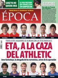 Athletic Club: webgune berriarekin, eta haserre Epoca aldizkariarekin