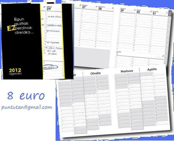2012ko agenda