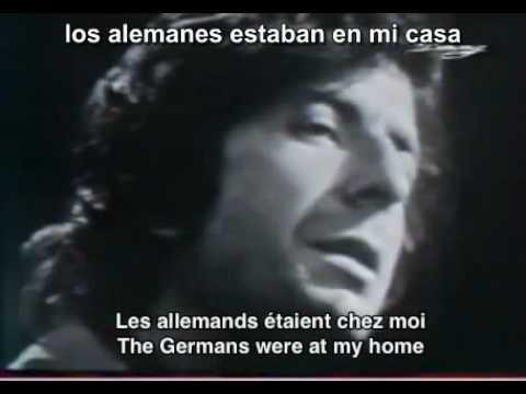 """Eskerrik asko zure musikarengatik Leonard Cohen - """"The Partisan"""""""
