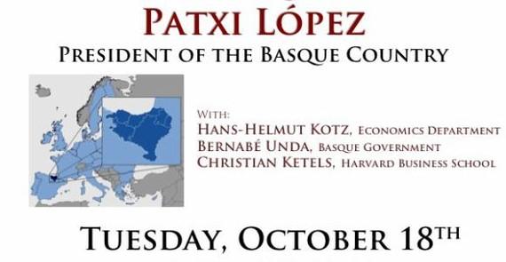Bitartean, Estatu Batuetan, Patxi Lopez...