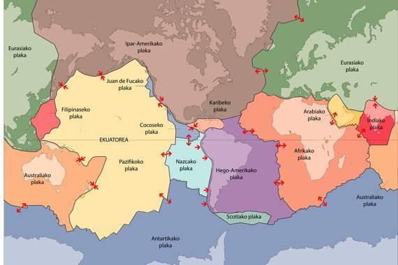 Plaka-tektonika: 50 urte eta sasoian