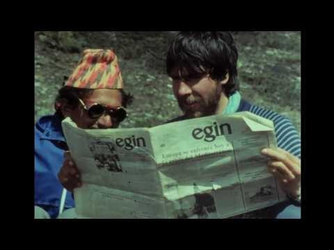 """""""Azpeitia-Annapurna 1986"""" ikusentzunezkoa, asteburuan Azpeitian [Trailerra]"""
