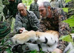 Vladimir Putin, Errusiako supergizona