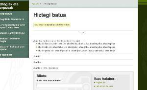 44.325 hitzeko Hiztegi Batu berritua sarean jarri du Euskaltzaindiak