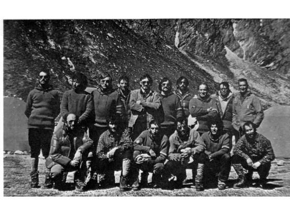 40 urte dira gaur Tximist espedizioak Everesti agur esan ziola