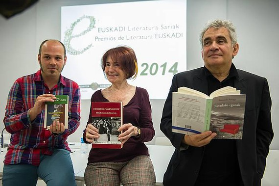 Bernardo Atxagak jaso du Euskadi Literatura Saria