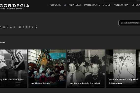 Gordegia, Donostiako Egia auzoarentzako biltegi digital bat