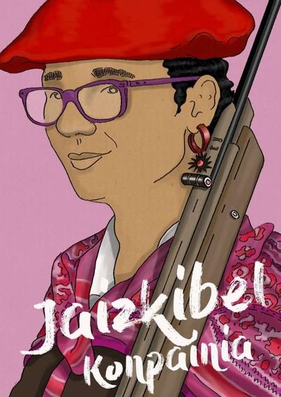"""""""Jaizkibel Konpainia. 20 urte"""" komikia, Iñigo Goikoetxearena"""