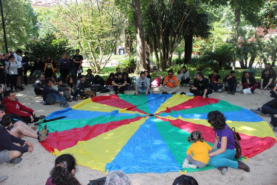 Gipuzkoa plaza hartu dute Gipuzkoa Zutik plataformakoek