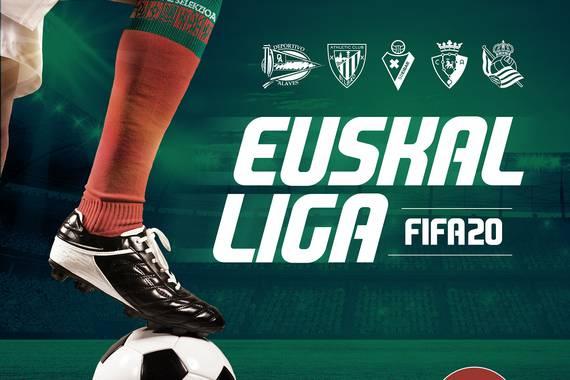 FIFA20 e-kirol Euskal Liga jokatuko da euskal selekzioen alde