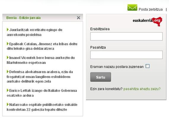 Euskalerria.org-ek bere zerbitzua etengo du
