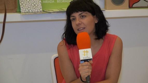 """Ines Osinaga (Gose): """"Trikitixa da nire arma barruan dauzkadan gauzak esateko"""""""