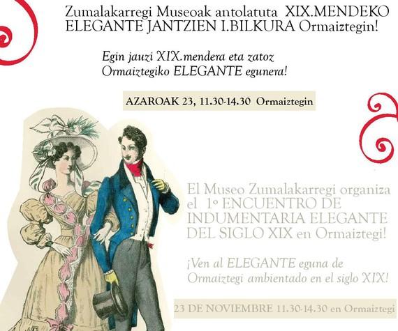 XIX.mendeko Eleganteen I.Bilkura Ormaiztegin. Elegante Eguna 2013
