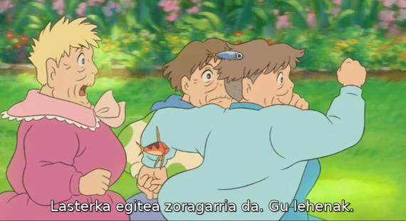 Hogeita bat film animaziozkoak, euskaratuta