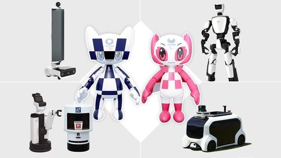 Tokio 2020 robotak